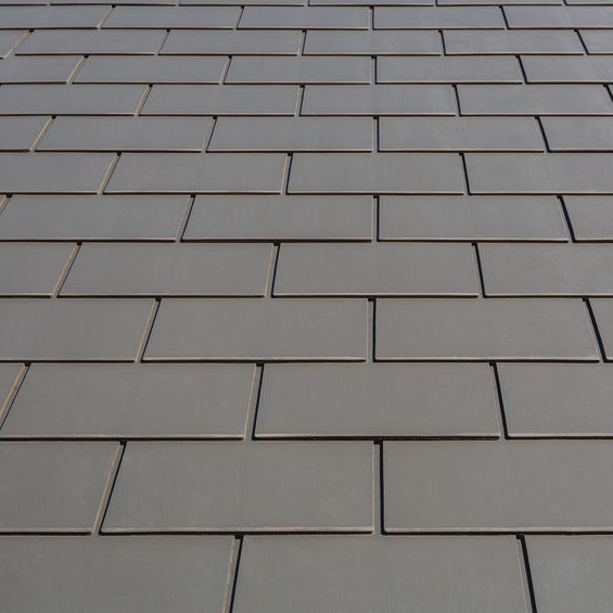 A Roof with Slate Tiles.