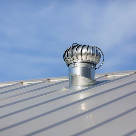 A Standing Seam Metal Roof.