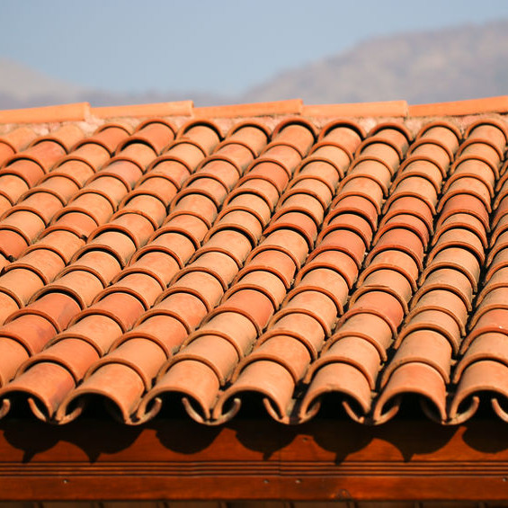 A Beautiful Spanish tile roof.