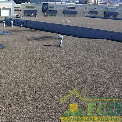 A Section of Built up Roofing